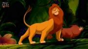 狮子王辛巴对抗伤疤