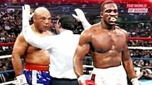 唯一能与拳王泰森抗衡的人,霍利菲尔德,一拳把对手打得昏厥倒地