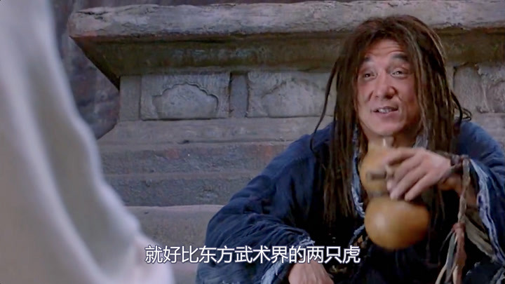 一山不容二虎,成龙和李连杰谁来出演那男主,最后编剧无奈改剧本